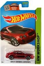 2015 Hot Wheels #192 HW Workshop Speed Team Bentley Continental Supersports