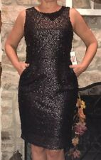 Isani for Target Black Sequin Sleeveless Dress NWT Size M