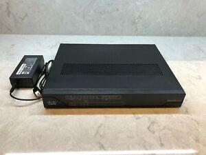 Cisco C891FW-E-K9 V01 Router with PSU