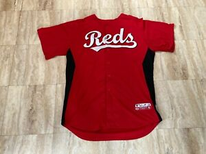 WILEY Team Issued Cincinnati Reds Spring Training Jersey MLB