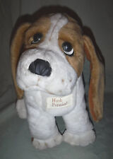 "BASSET HOUND HUSH PUPPIES BRAND SHOES Dog 11"" Plush Soft Toy Stuffed Stuffed"