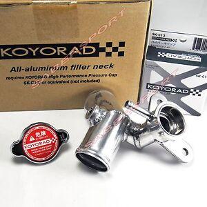 Koyo Aluminum Coolant Filler Neck w/ Cap for 2013-2016 Scion FR-S / Subaru BRZ