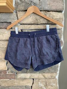 Athleta Beachside Bali Linen Shorts Camo Athletic~~Women's Size 4