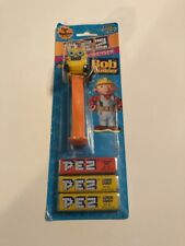 PEZ: Scoop the Bulldozer from Bob the Builder,cardboard pack, Brand New & Sealed