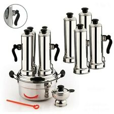 4 In 1 Ceylon Pittu Puttu Maker High quality stainless steel Pittu Bamboo
