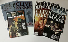 Clive Barker Lot of 8 Different Graphic Novels, Comics, and Hardcover Book