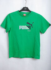 Puma Classic Tc Kids Junior Off White Logo Tee Top T-shirts 594134 62 Ua34 T-shirts, Tops & Shirts Clothes, Shoes & Accessories