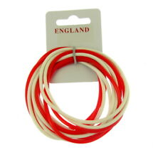 Wristband ENGLAND Fans Silicone  GUMMY BRACELETS, ONE PACK OF 12