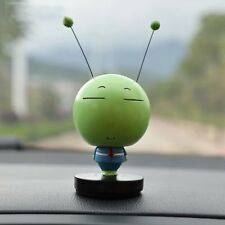 Cute Green Caterpillar Bobble Head Car Dashboard Decorations Doll