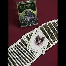 Bicycle Viking Iron scale Deck by Crooked Kings cards poker juego de naipes