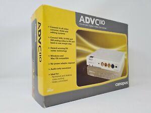 Canopus ADVC110 Advanced Digital Video Converter. Analog to Digital - New In Box