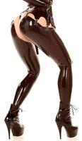 Latex Gummi Rubber Thigh Highs Long stockings legging Black