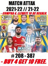 MATCH ATTAX 2021-22 // 21-22 BASE CARD CARTAS BASICAS 🇪🇸⚽🏆💵💵🏆⚽🇪🇸
