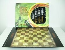 """The Lord Of The Rings Complete Chess Set 3 1/2"""" King The Fellowship Of The Ring"""