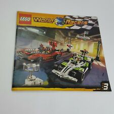 Lego World Racers Race 3 8898 **MANUAL ONLY**