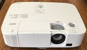 NEC P401W LCD Projector 16:9 White NP-P401W Gently used