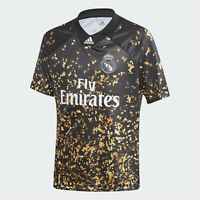 adidas Performance Boys Real Madrid Football Soccer Jersey Shirt EA FIFA Edition