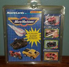 Vintage Galoob Micro Machines Micro Cards & Book Series 1 NOS