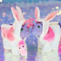 My Little Pony Wear BUNNY SUIT POCKET PAL BABY NODDINS G1 MLP Alt Rehair BO320