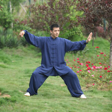 Tai chi uniforms Kung fu Martial arts Wing Chun Suit Wushu Clothes Cotton