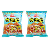 Snack Foods Nissin Koikeya Potato Chips Noodle Spicy Seafood Favor 50g x 2 Pack