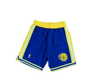 Golden State Warriors 1995-96 Authentic Mitchell and Ness Shorts Men's M&N L 44