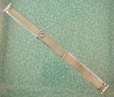 Vtg Forstner Komfit steel watch band NASA style 16mm lot z255
