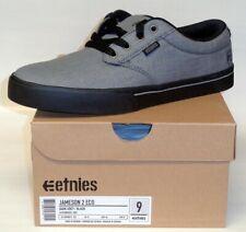Etnies Mens Jameson 2 Eco Dark Grey Black Shoes Size 9 IS