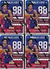 (4) 2017-18 Panini HOOPS Basketball NBA Trading Cards 88ct Ret Blaster Box LOT