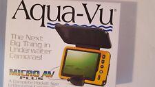 Aqua Vu AV Micro Plus + Underwater Pocket Camera Ice Cave Fish Finder Compact