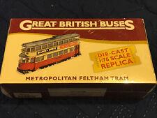 ATLAS 1/76 METROPOLITAN FELTHAM TRAM LONDON TRANSPORT ROUTE 21 HOLBORN