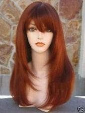 3133 New Long copper Brown Cosplay Fashion Wig
