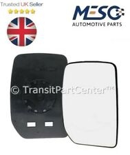 FRONT DOOR WING MIRROR GLASS FORD TRANSIT MK6 MK7 2000-2014 RH DRIVER SIDE