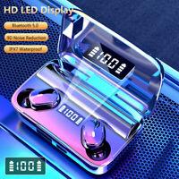 TWS Wireless Bluetooth 5.0 Headphones Earphones Mini Earbud Waterproof K5P7