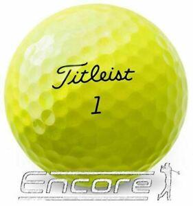 10 Titleist TruFeel Golf Balls Yellow PEARL / A Grade