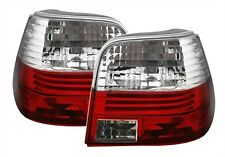 FEUX ARRIERE VW GOLF 4 1997-2003 GTI SDI V5 V6 R32 BLANC ROUGE CRISTAL