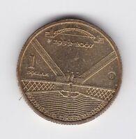 2007 $1 Coin  Australia  Z-886