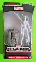 "Marvel Legends Spider-man 6"" White Tiger (Rhino BAF) - NEW/SEALED/NIP"