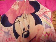 Toddler Girl Minnie Mouse Blanket Sleeper 2T