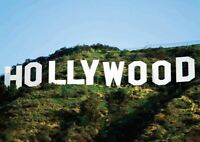 195187 HOLLYWOOD SIGN Decor Wall POSTER Print AU