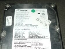 "SEAGATE BARRACUDA ATA V  ST380023A IDE PATA 80GB 3,5"" FESTPLATTE #1766"