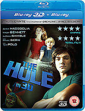 New The Hole (3D Blu-ray, 2011) and blu ray