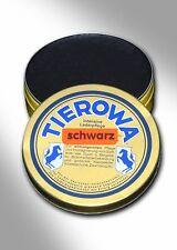 (6,75€/100ml) TIEROWA Lederfett 100 ml schwarz - Reiten - Schuhpflege - Jagd