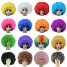 Super Afro Wig Big Huge Giant Disco Clown Halloween Costume Fancy Dress