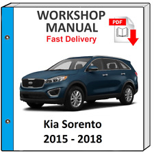 Kia Sorento 2015 2016 2017 2018 Service Repair Manual Workshop Manual
