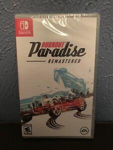 Burnout Paradise Remastered Nintendo Switch New Factory Sealed FREE SHIP