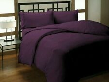 Modern Solid Fitted Sheet Egyptian Cotton Bedding Sets & Duvet Covers
