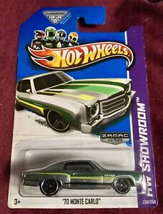 2013 Hot Wheels: '70 MONTE CARLO *ZAMAC* Edition - #239/250 Great Condition New