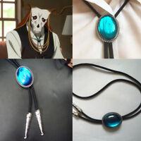 The Ancient Magus' Bride Elias Ainsworth Cross Necklace Tie Pendant cosplay prop