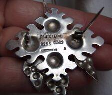 Collectable Scandinavian Modernist Juhls Kautokeino Silver 925S Brooch /Pendant